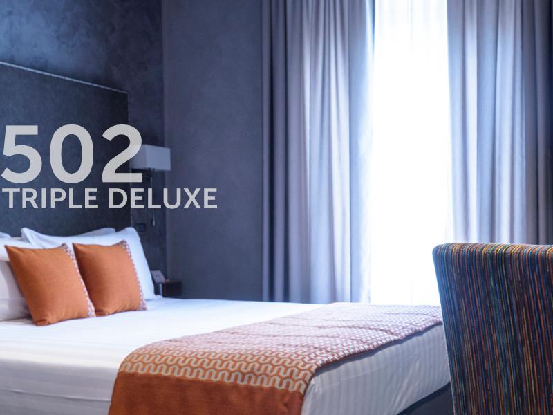 502 | Habitación Triple Deluxe